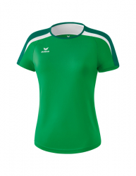 ERIMA Frauen Liga 2.0 T-Shirt LIGA LINE 2.0 smaragd/evergreen/wei?