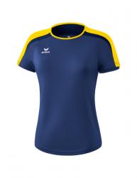 ERIMA Frauen Liga 2.0 T-Shirt LIGA LINE 2.0 new navy/gelb/dark navy