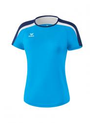 ERIMA Frauen Liga 2.0 T-Shirt LIGA LINE 2.0 curacao/new navy/wei?