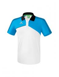 ERIMA Kinder / Herren Premium One 2.0 Poloshirt PREMIUM ONE 2.0 weiß/curacao/schwarz