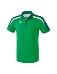 ERIMA Kinder / Herren Liga 2.0 Poloshirt LIGA LINE 2.0 smaragd/evergreen/weiß