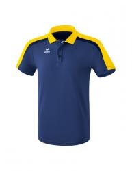 ERIMA Kinder / Herren Liga 2.0 Poloshirt LIGA LINE 2.0 new navy/gelb/dark navy