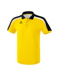 ERIMA Kinder / Herren Liga 2.0 Poloshirt LIGA LINE 2.0 gelb/schwarz/weiß