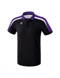 ERIMA Kinder / Herren Liga 2.0 Poloshirt LIGA LINE 2.0 schwarz/violet/wei?