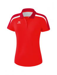 ERIMA Frauen Liga 2.0 Poloshirt LIGA LINE 2.0 rot/dunkelrot/weiß