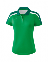 ERIMA Frauen Liga 2.0 Poloshirt LIGA LINE 2.0 smaragd/evergreen/weiß