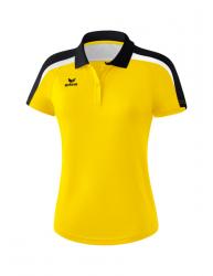 ERIMA Frauen Liga 2.0 Poloshirt LIGA LINE 2.0 gelb/schwarz/weiß