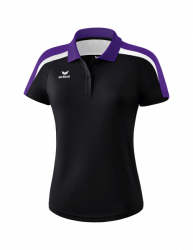ERIMA Frauen Liga 2.0 Poloshirt LIGA LINE 2.0 schwarz/violet/weiß