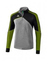 ERIMA Kinder / Herren Premium One 2.0 Trainingstop PREMIUM ONE 2.0 grau melange/schwarz/lime pop