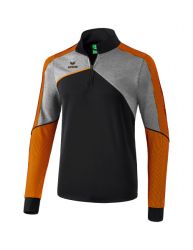 ERIMA Kinder / Herren Premium One 2.0 Trainingstop PREMIUM ONE 2.0 schwarz/grau melange/neon orange
