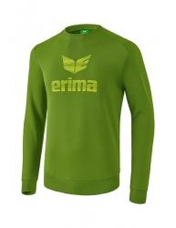 ERIMA Kinder / Herren Essential Sweatshirt ESSENTIAL twist of lime/lime pop (+3% Zusatzrabatt)