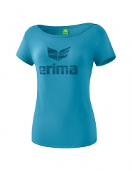 ERIMA Frauen Essential T-Shirt ESSENTIAL niagara/ink blue