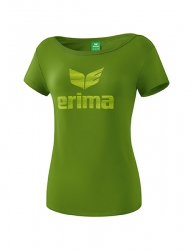 ERIMA Frauen Essential T-Shirt ESSENTIAL twist of lime/lime pop