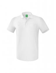 ERIMA Herren Poloshirt mit Brusttasche weiß