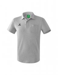 ERIMA Herren Poloshirt mit Brusttasche hellgrau melange (1,5% Zusatzrabatt bei Vorkasse)