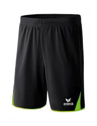 ERIMA Kinder / Herren 5-Cubes Shorts CLASSIC 5-CUBES schwarz/green gecko