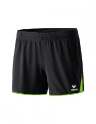 ERIMA Frauen CLASSIC 5-CUBES Shorts 5-CUBES Basics schwarz/green gecko