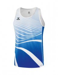 ERIMA Kinder / Herren Singlet ATHLETIC new royal/weiß
