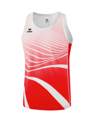 ERIMA Kinder / Herren Singlet ATHLETIC rot/weiß
