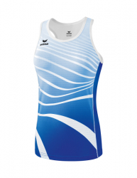 ERIMA Frauen Singlet ATHLETIC new royal/weiß