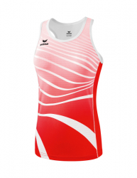 ERIMA Frauen Singlet ATHLETIC rot/weiß