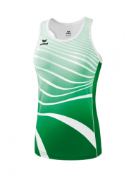 ERIMA Frauen Singlet ATHLETIC smaragd/weiß