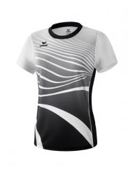 ERIMA Frauen T-Shirt ATHLETIC schwarz/weiß