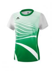 ERIMA Frauen T-Shirt ATHLETIC smaragd/weiß