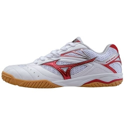 Mizuno Schuh Wave Drive 7 weiß/rot (Restposten)