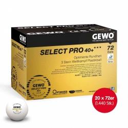 Gewo Wettkampfball Select Pro 40+ *** 20x 72er Karton