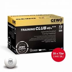 GEWO Ball Training Club 40+ ** 20x 72er Karton