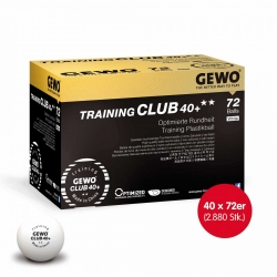 GEWO Ball Training Club 40+ ** 40x 72er Karton