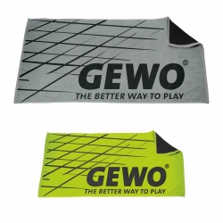 Set of 2 GEWO Towel Game silver / green
