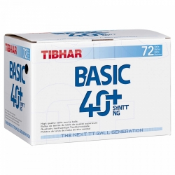 Tibhar Ball Basic 40+ SYNTT NG 72er