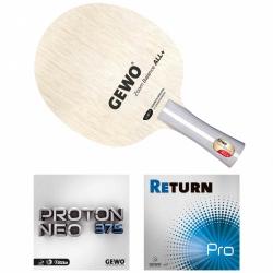 GEWO Schläger Zoom Balance mit Proton Neo 375 und Return Pro