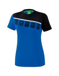 ERIMA Frauen 5-C T-Shirt 5-C new royal/schwarz/weiß