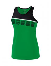 ERIMA Kinder / Frauen 5-C Tanktop 5-C smaragd/schwarz/weiß