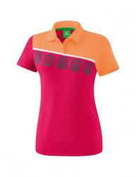 ERIMA Kinder / Frauen 5-C Poloshirt 5-C love rose/peach/weiß
