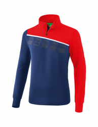 ERIMA Kinder / Herren 5-C Trainingstop 5-C new navy/rot/weiß