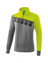 ERIMA Kinder / Herren 5-C Trainingstop 5-C grau melange/lime pop/schwarz