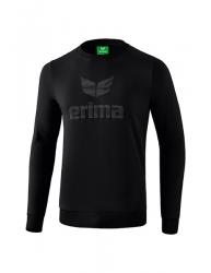 ERIMA Kinder / Herren Essential Sweatshirt ESSENTIAL schwarz/grau