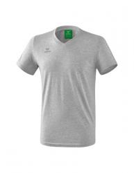 ERIMA Kinder / Herren Style T-Shirt hellgrau melange