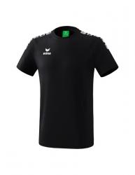 ERIMA Kinder / Herren Essential 5-C T-Shirt ESSENTIAL 5-C schwarz/weiß