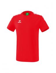 ERIMA Kinder / Herren Essential 5-C T-Shirt ESSENTIAL 5-C rot/weiß
