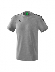 ERIMA Kinder / Herren Essential 5-C T-Shirt ESSENTIAL 5-C grau melange/schwarz