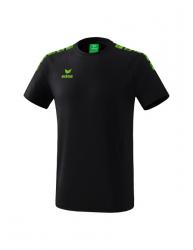 ERIMA Kinder / Herren Essential 5-C T-Shirt ESSENTIAL 5-C schwarz/green gecko