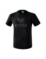 ERIMA Kinder / Herren Essential T-Shirt ESSENTIAL schwarz/grau