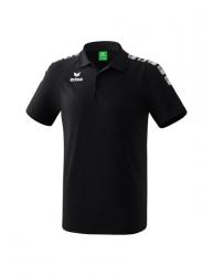 ERIMA Kinder / Herren Essential 5-C Poloshirt ESSENTIAL 5-C schwarz/wei?