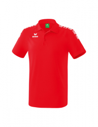 ERIMA Kinder / Herren Essential 5-C Poloshirt ESSENTIAL 5-C rot/wei?