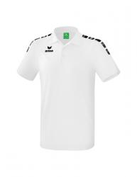 ERIMA Kinder / Herren Essential 5-C Poloshirt ESSENTIAL 5-C wei?/schwarz